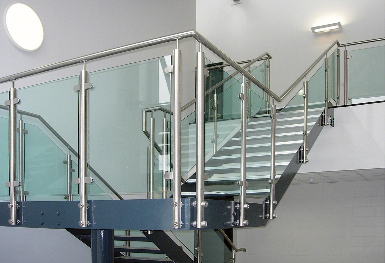 Cerramientos acero inox frampe murcia - Vallas para escaleras ...