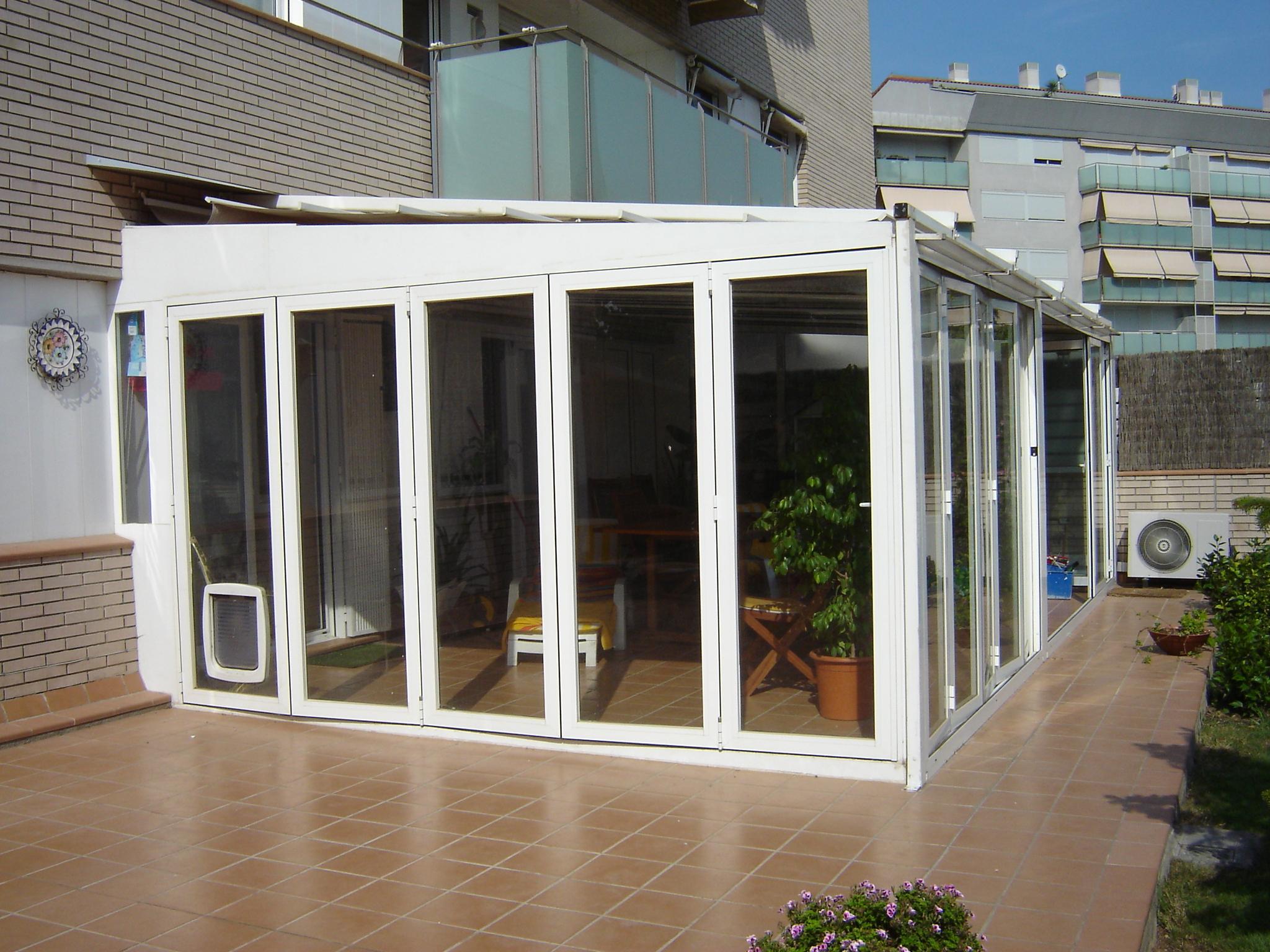 Cerramientos de aluminio frampe murcia for Cerramientos de jardines fotos