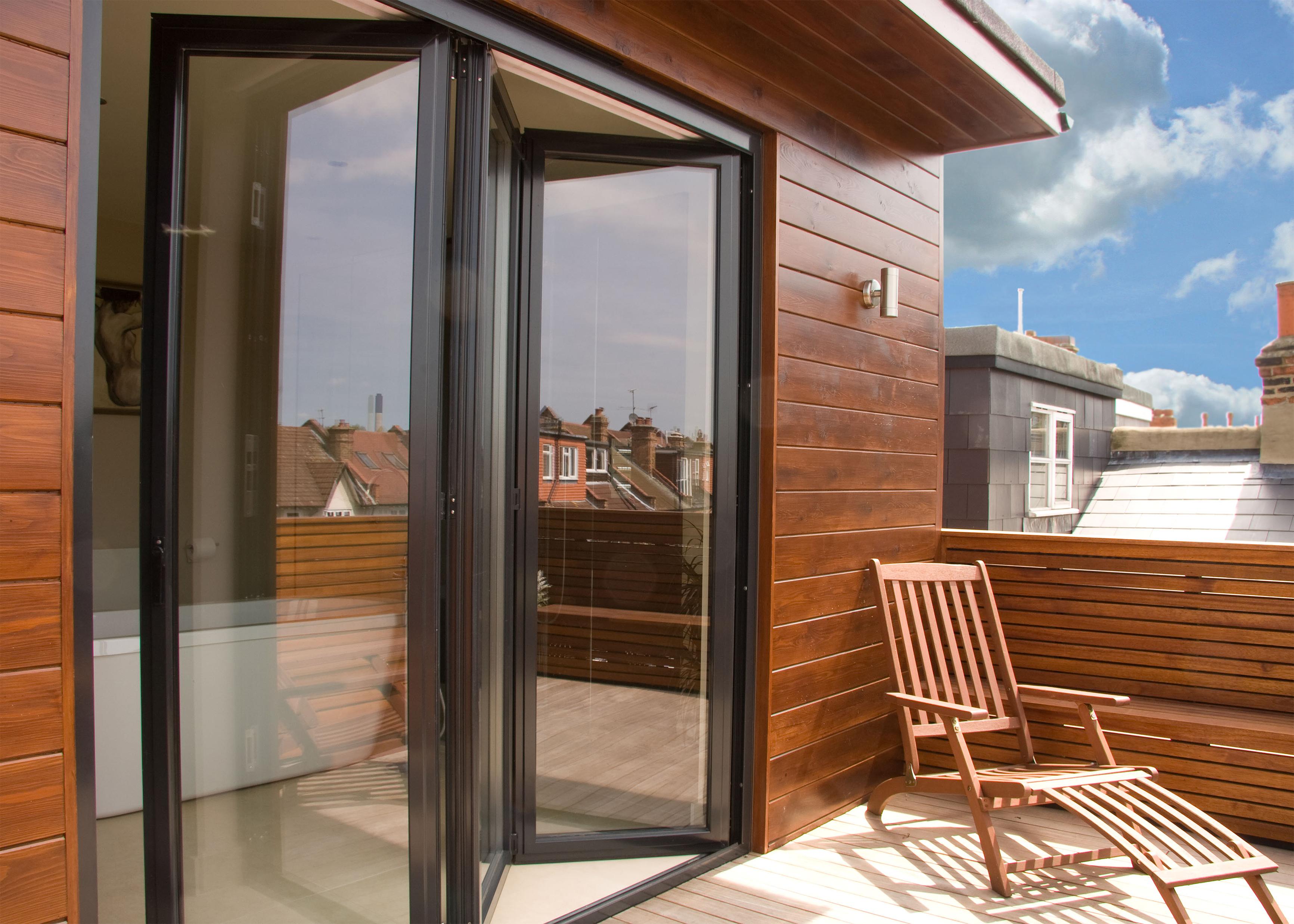Ventanas y puertas de aluminio frampe cerramientos de - Modelos de puertas de aluminio para exterior ...